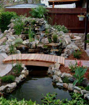 I want a bridge over my pond.