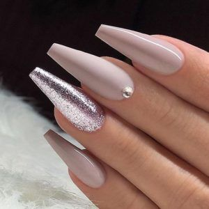 40 Long Nails Designs For Summer With Images Mauve Nails Glam Nails Cute Acrylic Nails