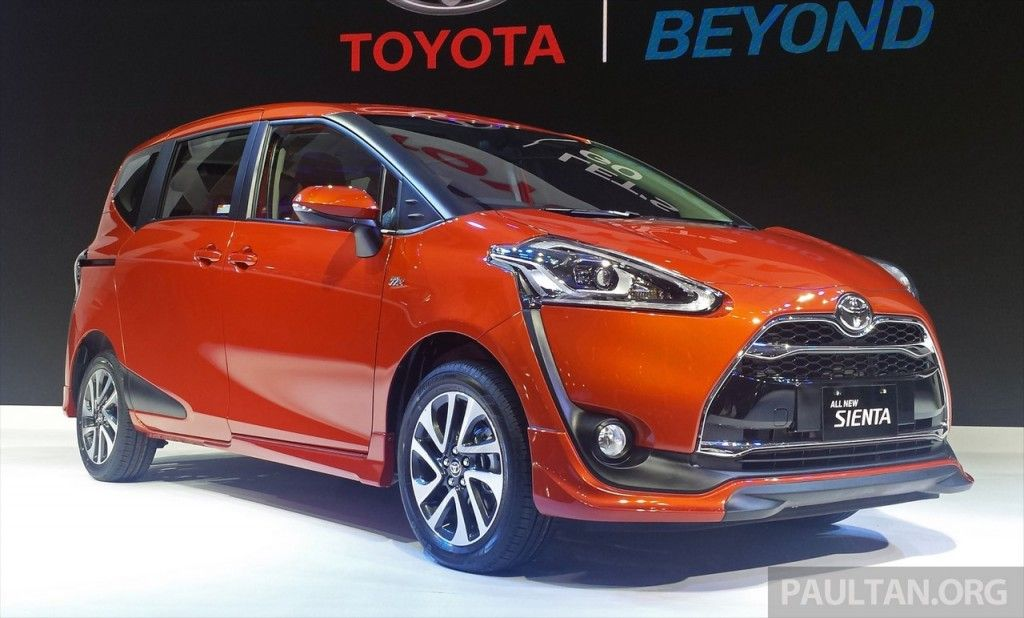 Toyota Sienta Mini Mpv Launched In Indonesia