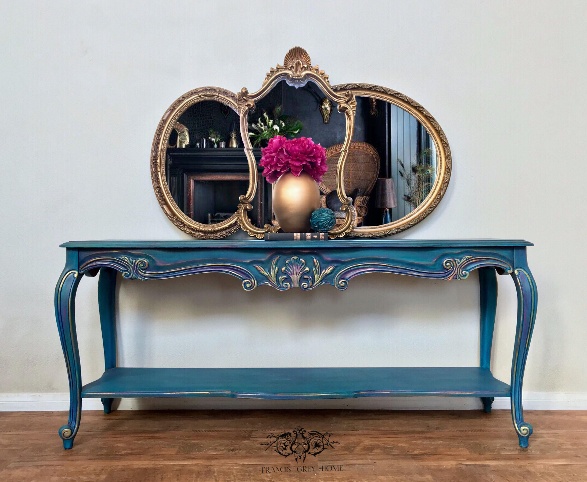 Entry Table Boho Entry French Provincial Entry Sofa Table Color Blending Chalk Paint Entry Ta Provincial Furniture French Provincial Furniture Entry Table