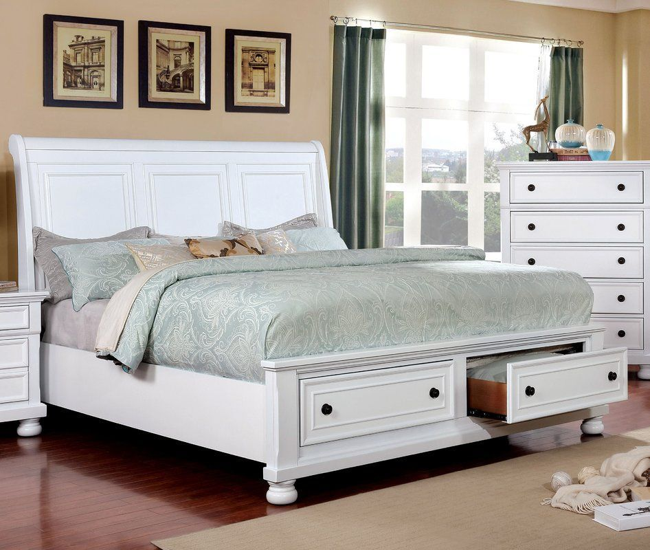Hoch Storage Panel Bed Queensizebedfurniture Furniture Bedroom Set Bed Frame With Storage
