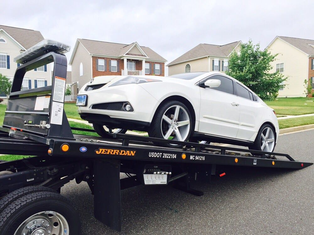 acura towing