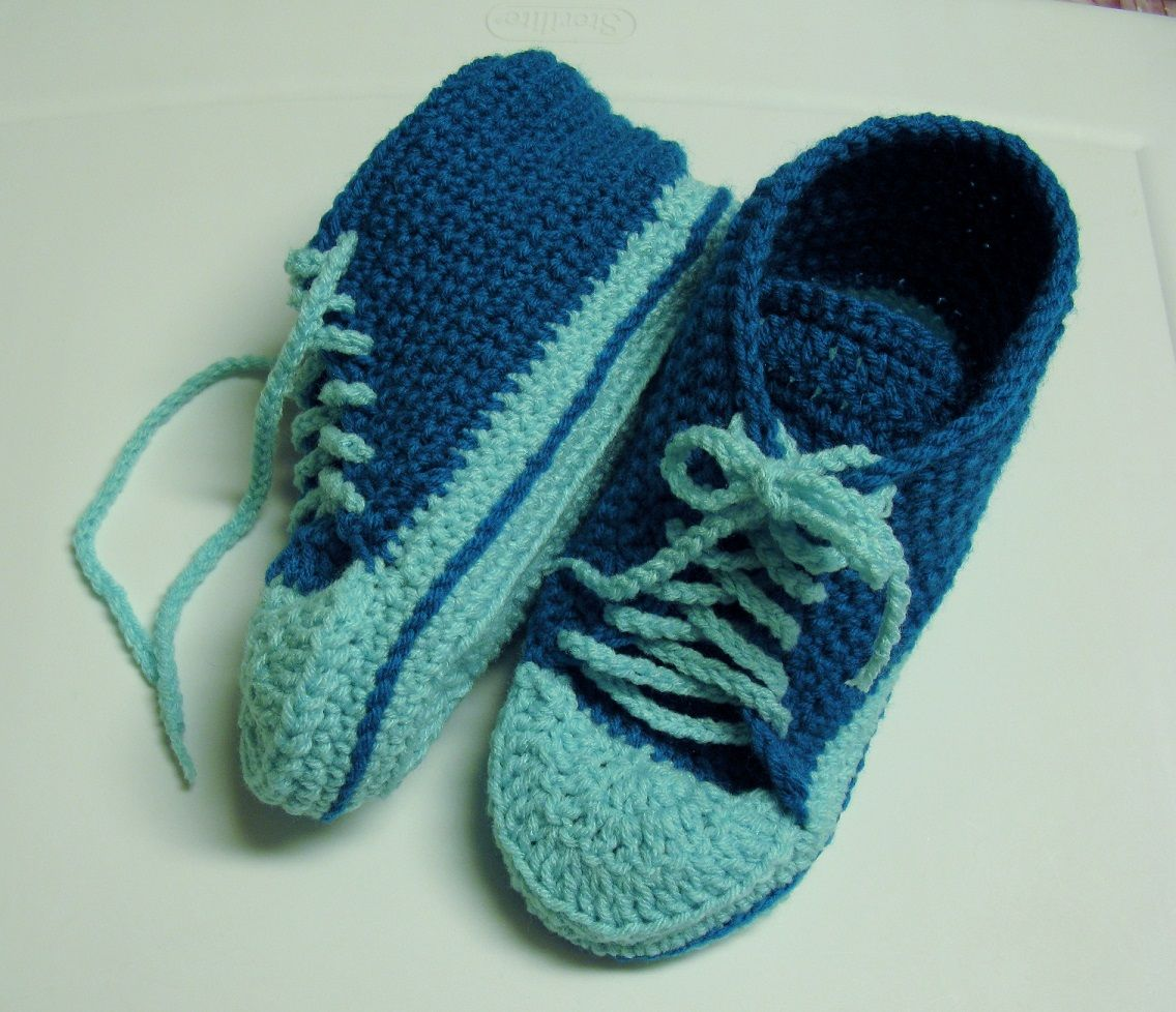 Le tutoriel des converses crochet crocheted slippers and patterns le tutoriel des converses crocheted slipperscrochet sockspattern bankloansurffo Image collections
