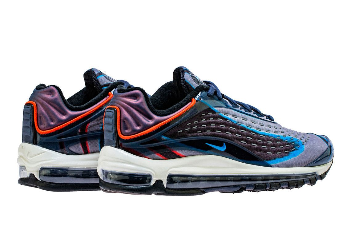 Nike air max deluxe red navy   Nike air