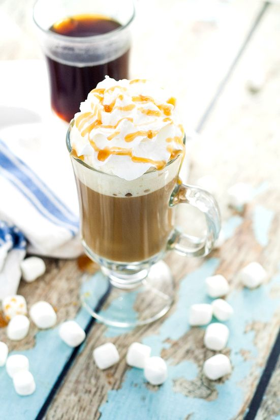 Homemade Caramel Marshmallow Coffee Creamer recipe - Light ...
