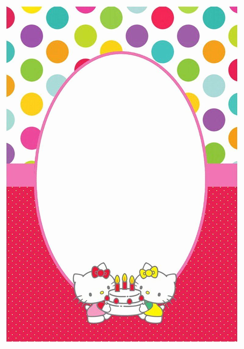 Editable Birthday Invitations Templates Free Luxury Editable Birthday Invitations Birthda Hello Kitty Invitations Hello Kitty Birthday Hello Kitty Printables