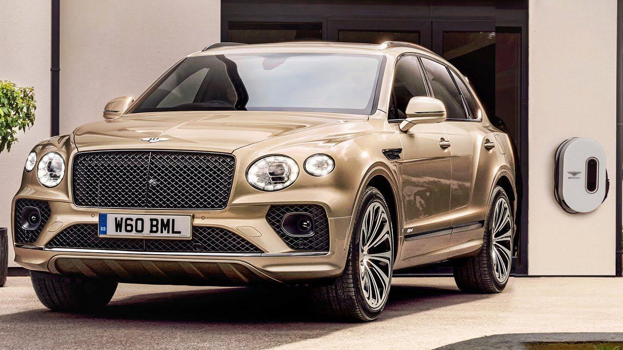 New 2021 Bentley Bentayga Hybrid Interior Exterior Drive In 2021 Luxury Suv Bentley Hybrid Car