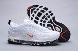 e029dd023e1 Nike Air Max 97 Cone white / orange BQ4567-100 Sneaker Men's Women's Shoes
