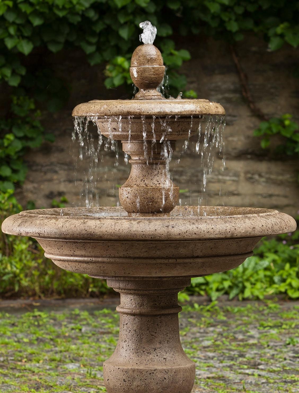 Holden Fountain Frontgate Garden Water Fountains Fountains Backyard Fountains Outdoor