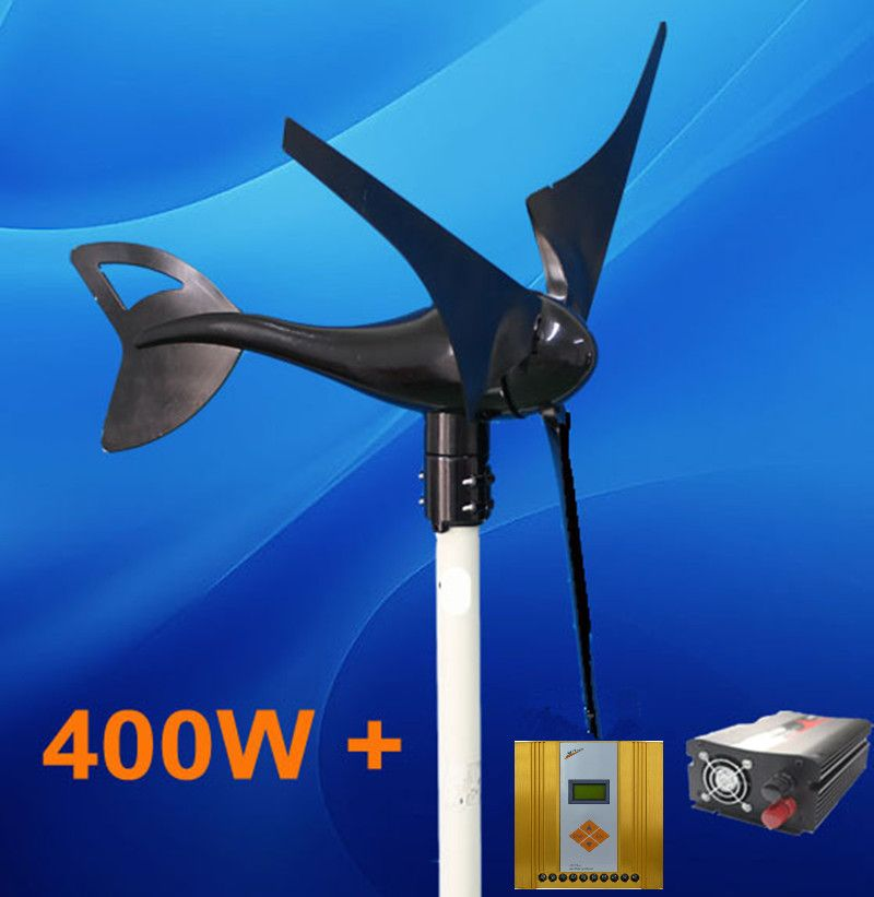 DIY Small Power System 400W Wind Generator + 600W MPPT Wind Solar