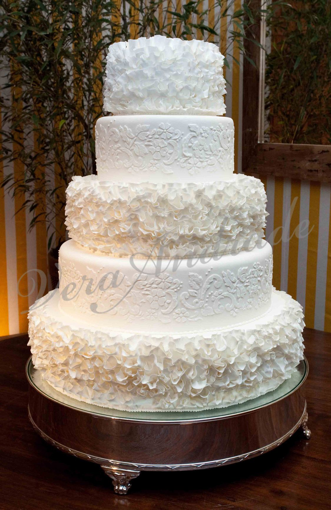 Vera Andrade - Cake Designer   Casamento: Bolos / Wedding: Cakes ...