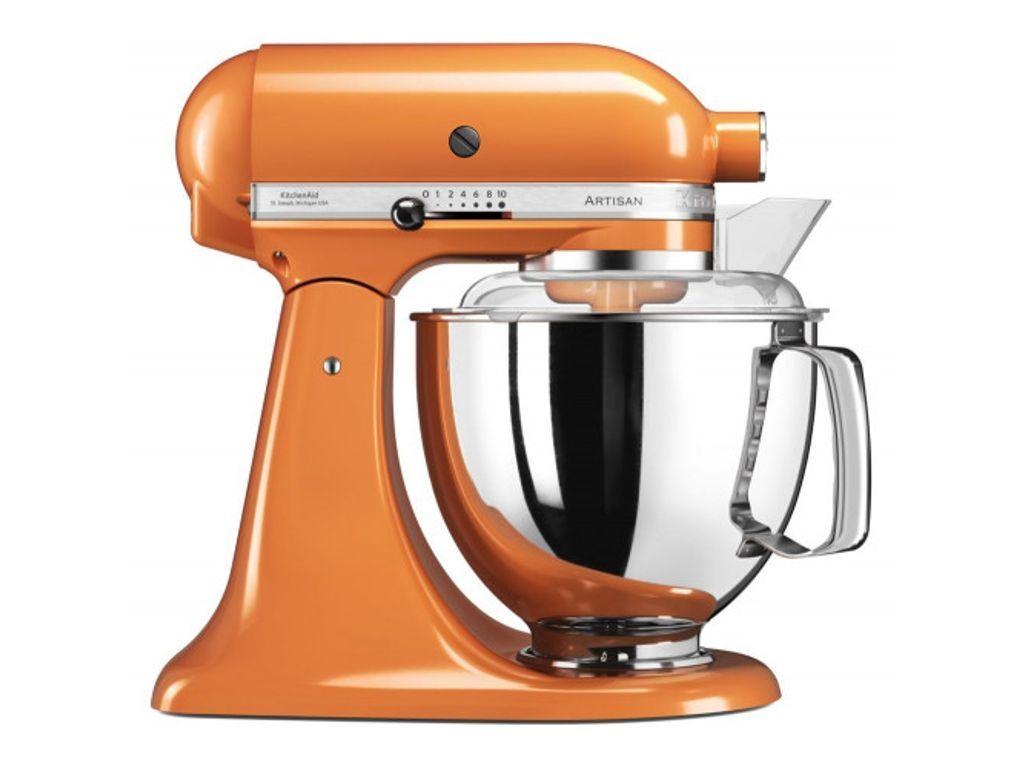 Kitchenaid artisan 5ksm175psbtg stand mixer tangerine