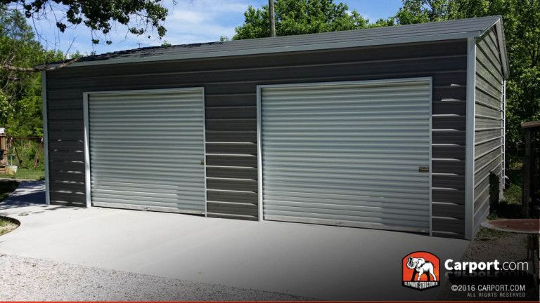 21x24 Custom Two Car Garage Garage Door Styles Garage Doors Garage Door Design