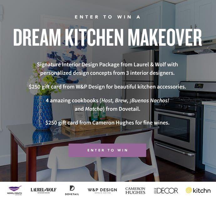 Enter to Win: Dream Kitchen Makeover   Kitchen, Enter to win ...