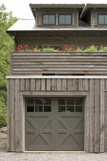 I Quite Like This Good Looking Rustic Garage Door Rusticgaragedoor In 2020 Garage Doors Wooden Garage Doors Garage Door Styles