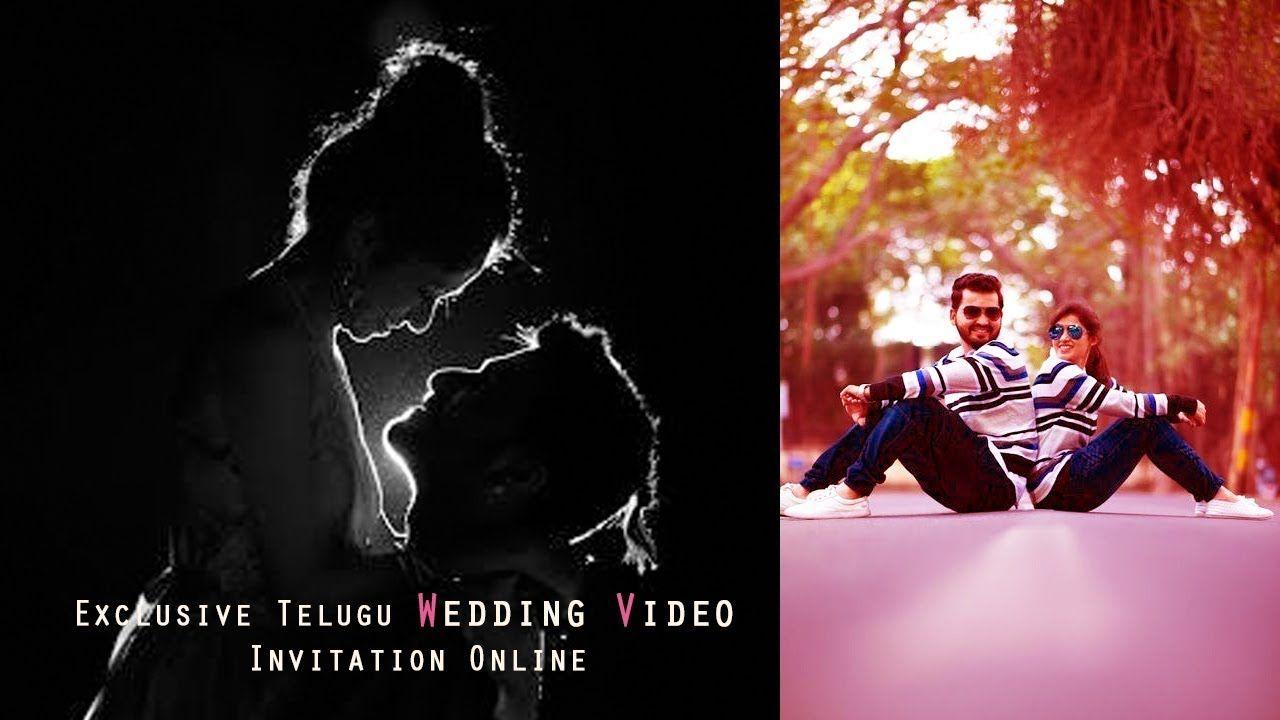 Exclusive Telugu Wedding Teaser Invitation Online