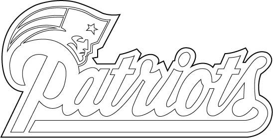 new england patriots alt logo outline vector by broken bisondeviantartcom on deviantart