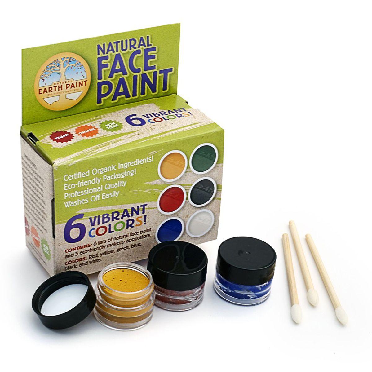 Natural Earth Paint Natural Face Paint Kit Face Paint Kit