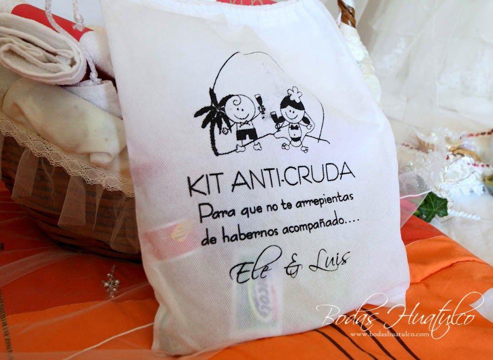 kit anticruda una idea muy original para tu boda en playa por bodas huatulco