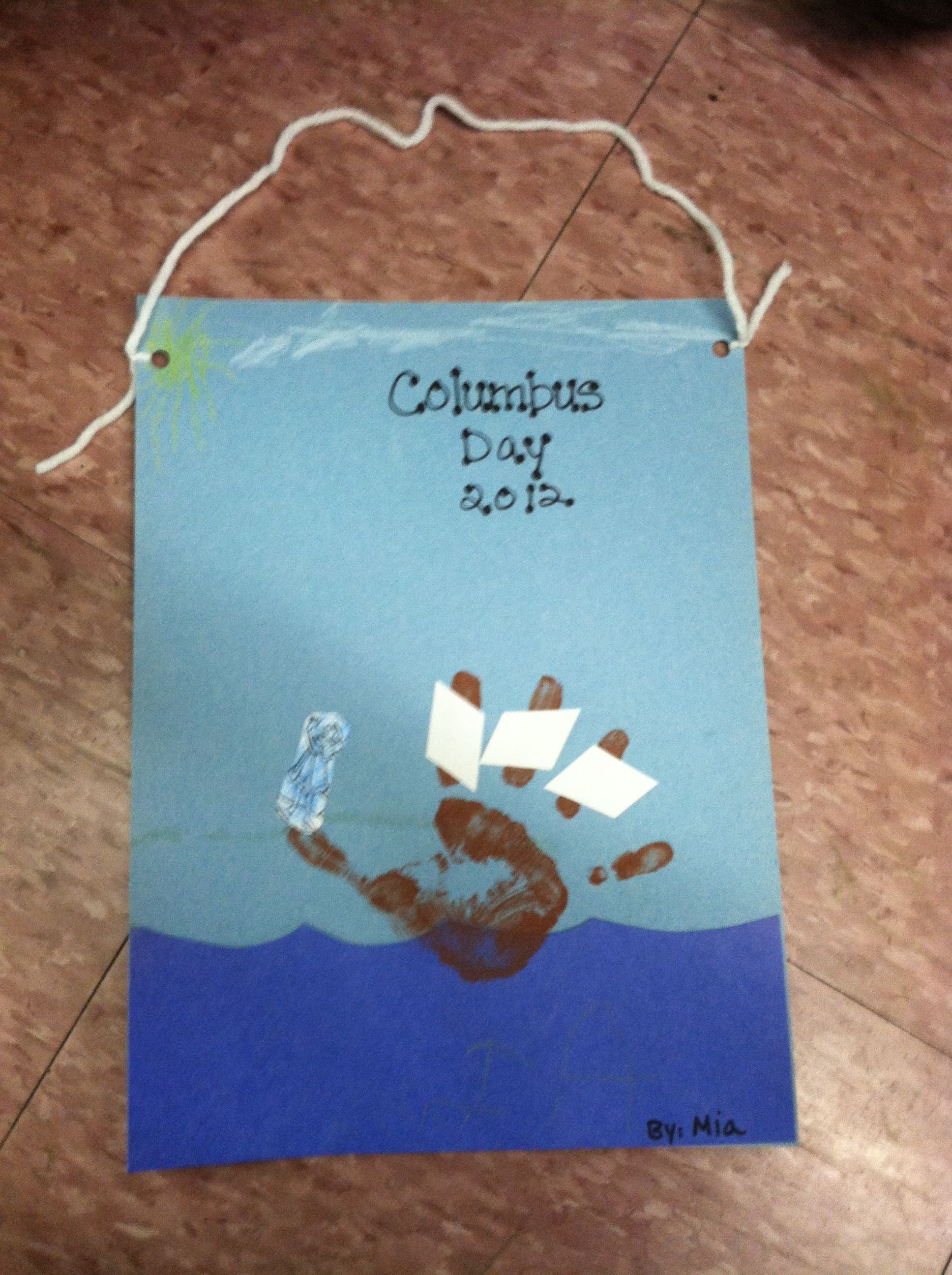 Pin By Eleni Mcgrath On My Preschool Class Kids Crafts Toddlers Christopher Columbus Activities Christopher Columbus Craft
