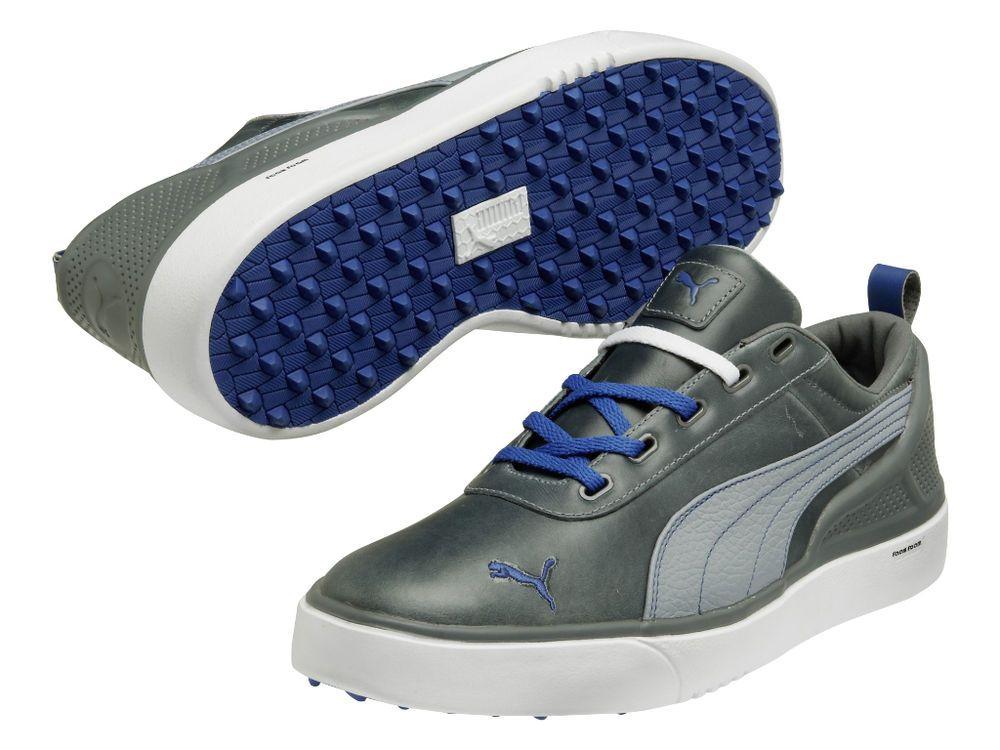 A tiempo de Aclarar  New PUMA Men's Monolite Golf Shoe,Tradewinds/White/Monaco Blue, US Size 11  M US | Spikeless golf shoes, Golf shoes mens, Golf shoes