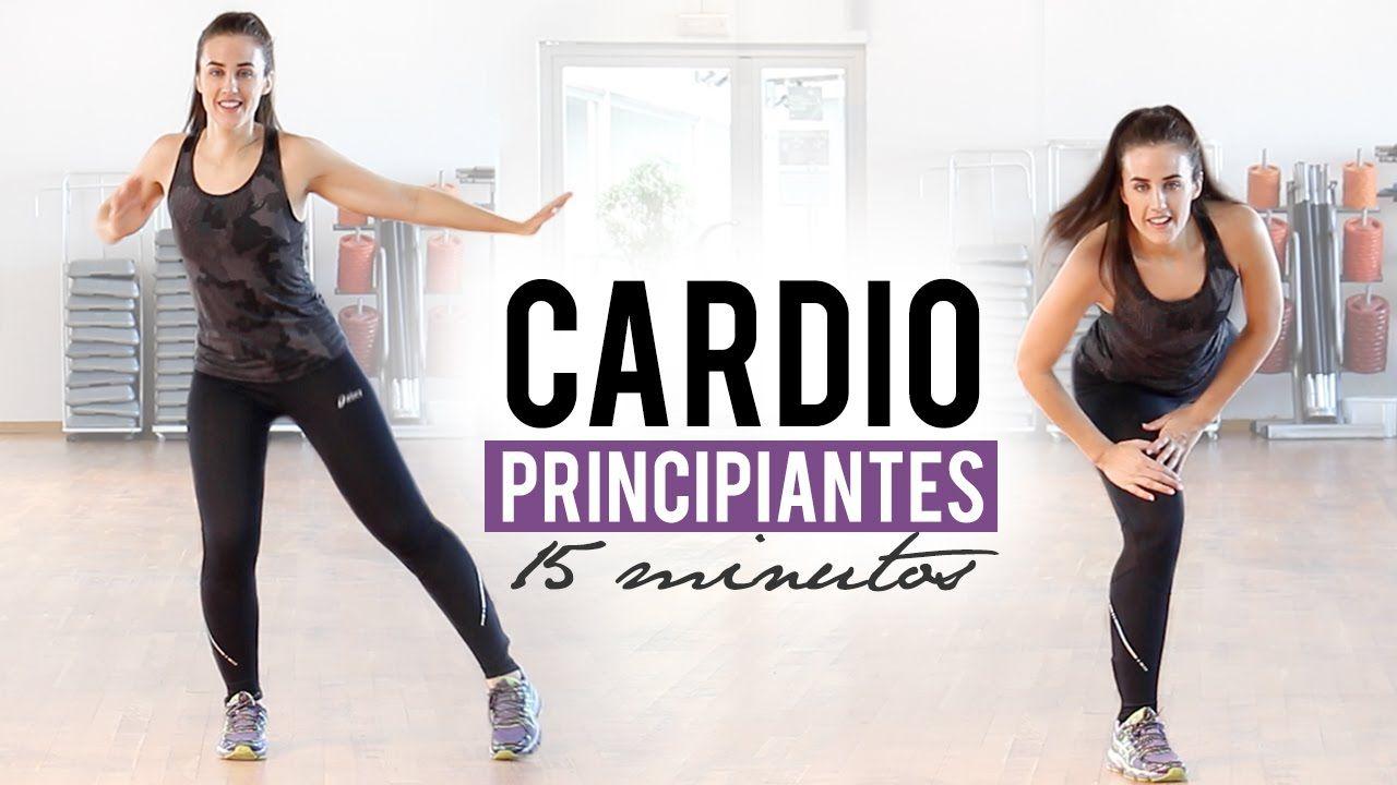 Rutina De Cardio Para Principiantes 15 Minutos Ejercicios De Cardio Rutinas De Ejercicio Cardio