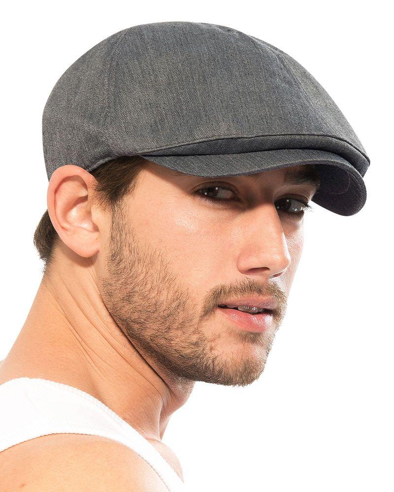 ililily Cotton Flat Cap Cabbie Hat Gatsby Ivy Cap Irish Hunting Hat Newsboy   304c6cd45f83