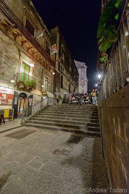 Scalinata Alessi. Catania Sicilia