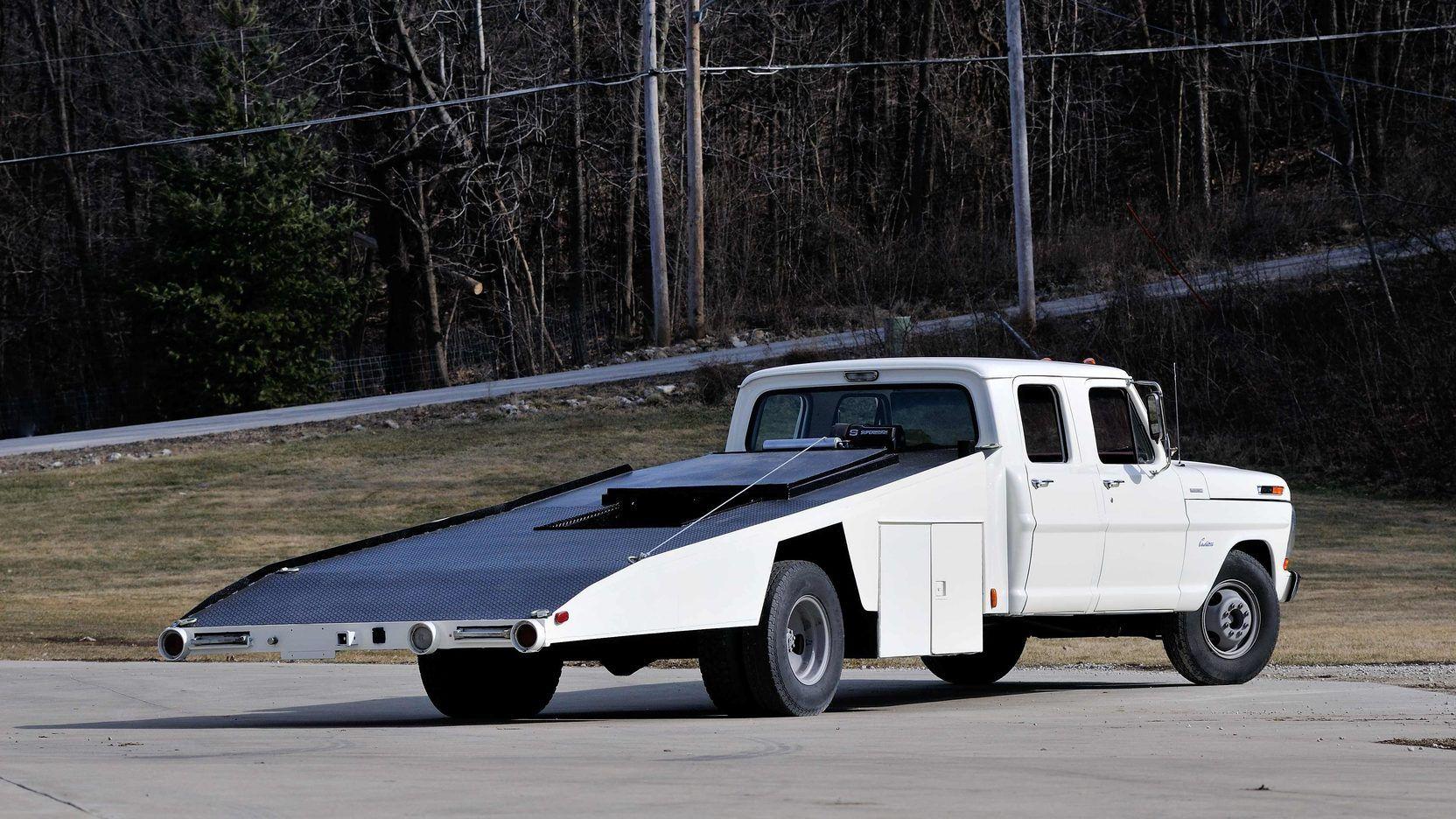 1970 ford f350 crew cab factory car hauler t88