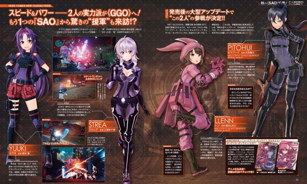 Sword Art Online: Fatal Bullet officially announced for