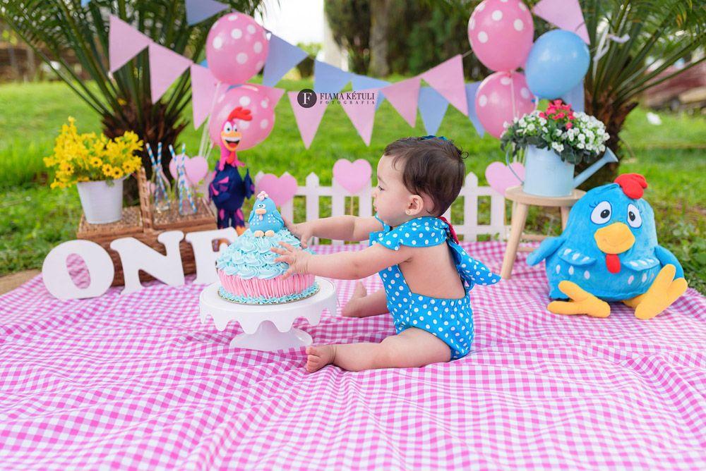 Olha só que lindeza esse Smash the Cake com tema da