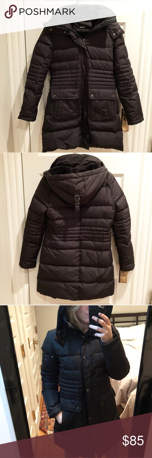 Dkny Down Jacket Jackets Clothes Design Down Jacket [ 1740 x 580 Pixel ]