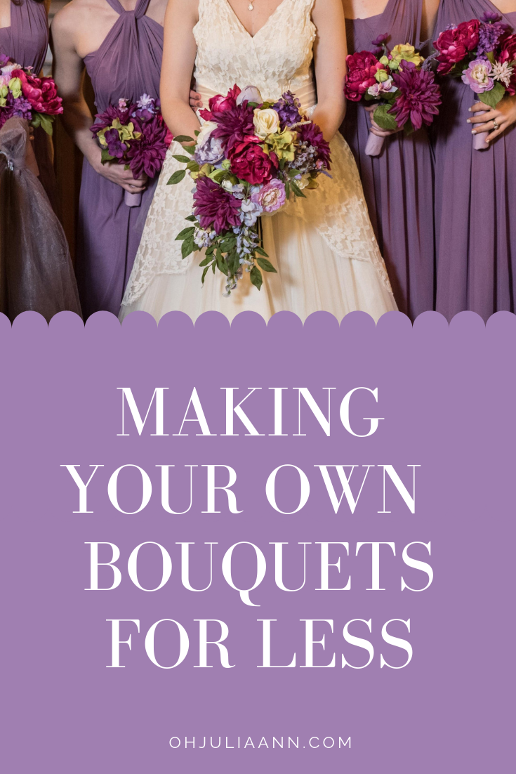 Making Your Own Wedding Bouquets For Less Wedding Bouquet Fake Flowers Diy Wedding Flowers Bouquet Fake Wedding Bouquet