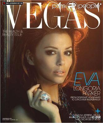 Eva Longoria en couverture de Vegas Magazine