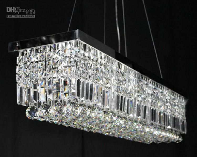 Crystal Chandelier Best 100cm Modern Contemporary Pendant Light Ceiling Lamp Online With 429 35 Piece Dhgate