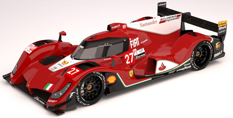 Ferrari LMP1 2015 concept by Oriol Folch Garcia