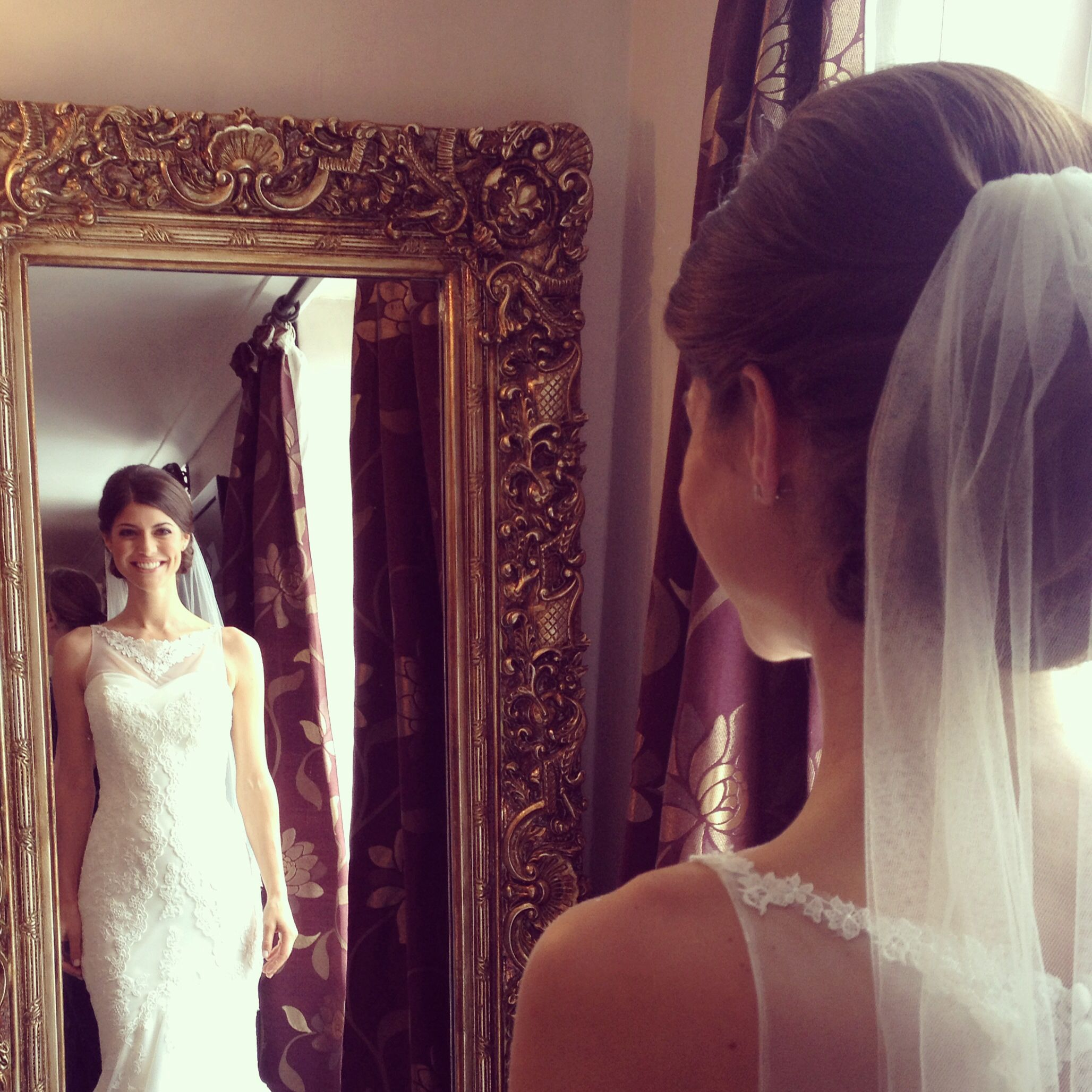 alnwick treehouse wedding hair by lisa cameron make up dani