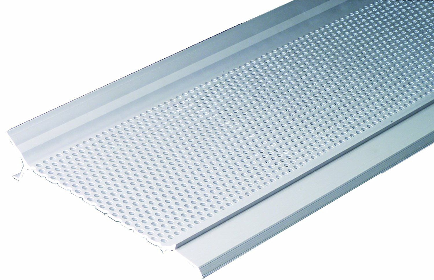 Gutter Guard Pro Gg5w 1 12 Foot Gutter Screen System Snap In Cover White More Info Could Be Found At The Image Url Gutter Screens Gutter Guard Gutter