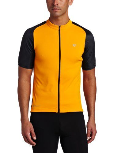 Pearl Izumi Men's Attack Jersey, Safety Orange/Black, X-Large - http://ridingjerseys.com/pearl-izumi-mens-attack-jersey-safety-orangeblack-x-large/