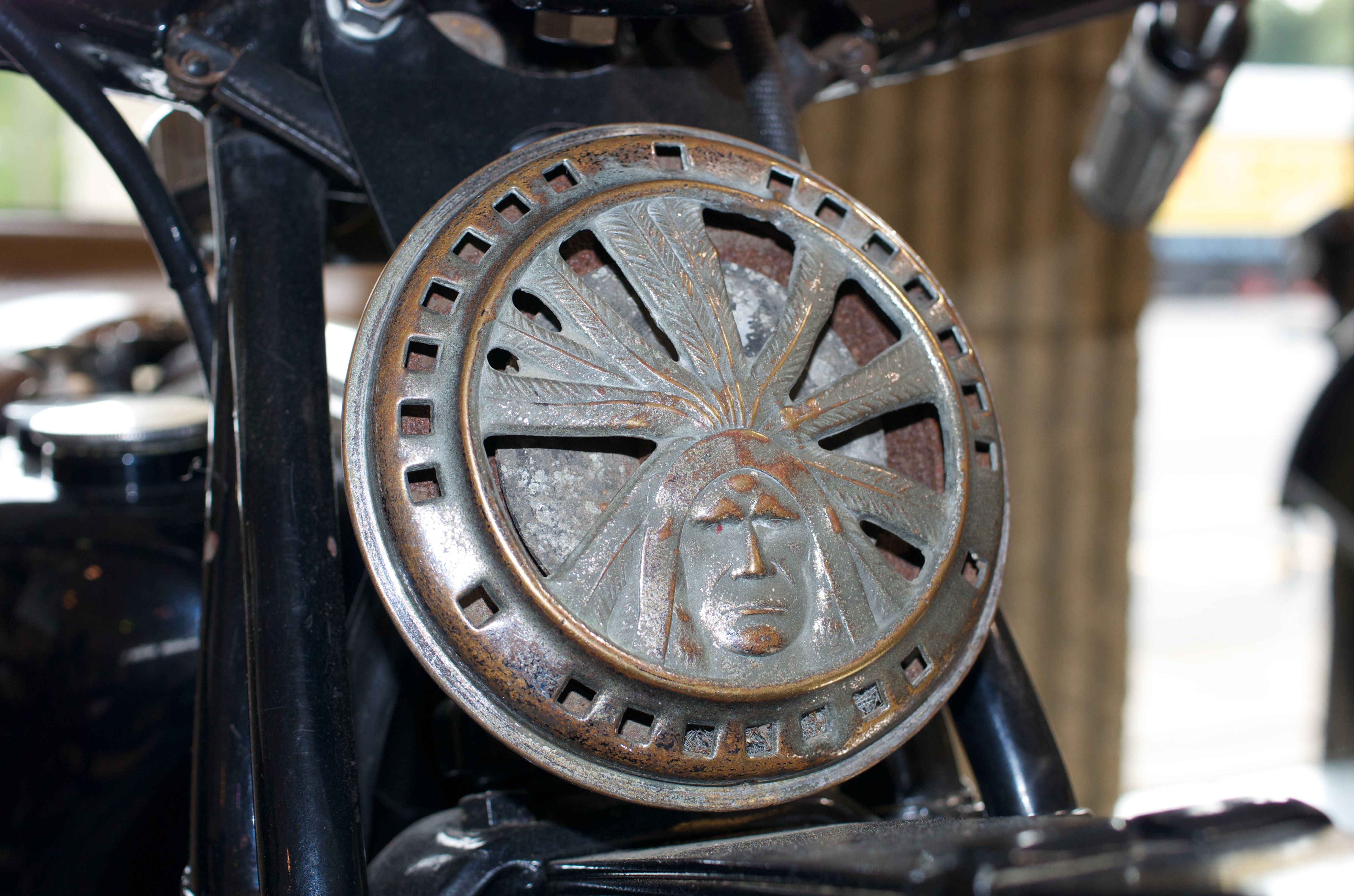 Horn of 1931 Indian 101 Scout Indian motors, Classic