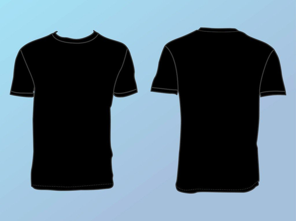 30 Handy Blank Templates For Designers Creative Repository T Shirt Design Template Shirt Template Fashion Design Template