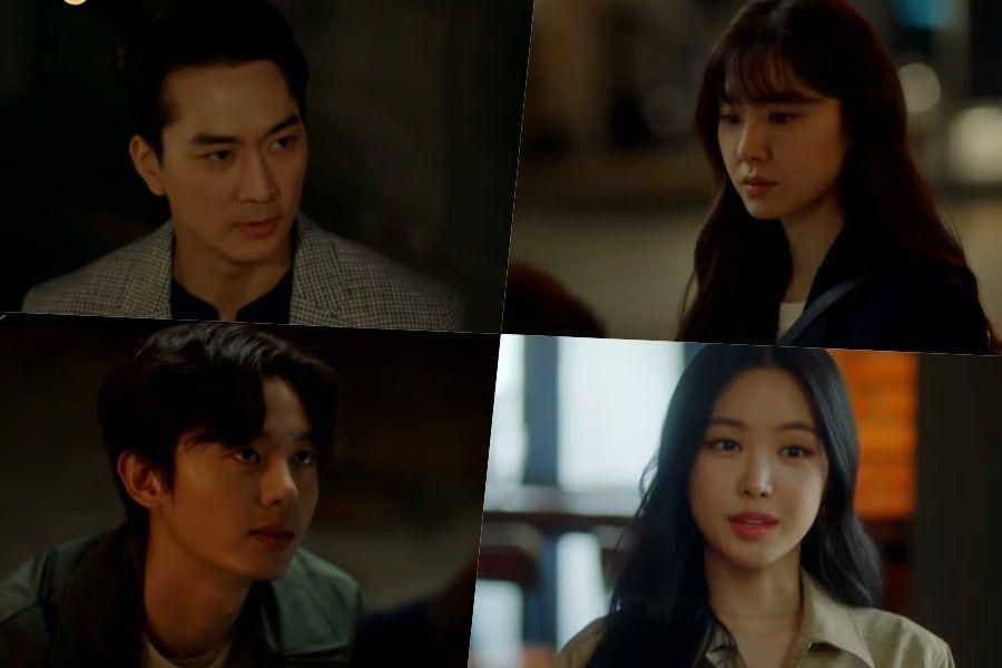 Watch: Song Seung Heon, Seo Ji Hye, Son Naeun, And Lee Ji Hoon Struggle With Love In 1st Teaser For New Drama