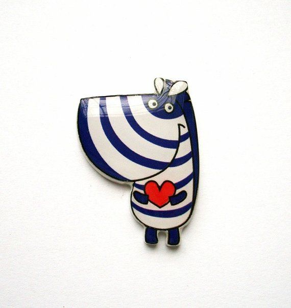 Zebra Pin Gift For Her Unique Birthday Gifts Christmas