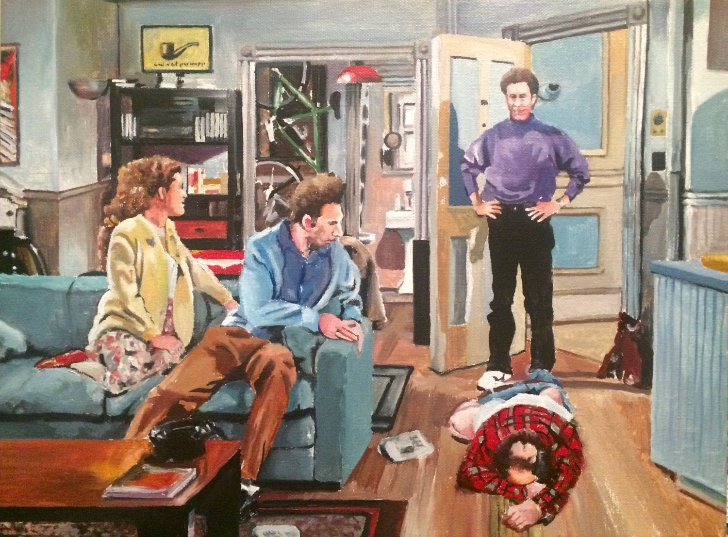 And You Want To Be My Latex Salesman Seinfeld Art Prints