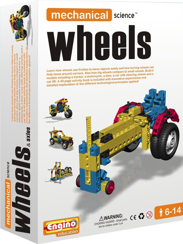 Engino mechanical science wheels axles