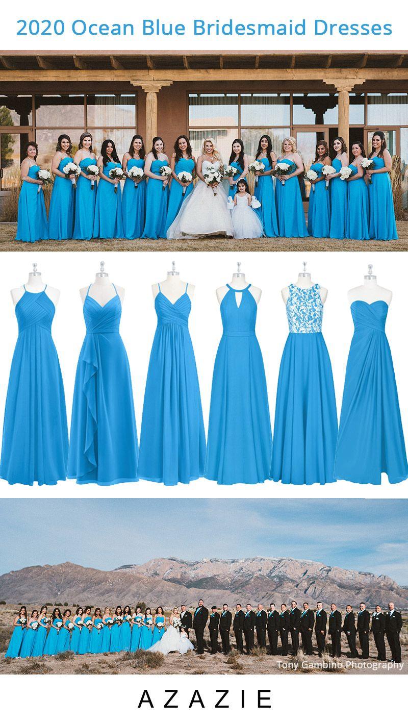 Ocean Blue Bridesmaid Dresses At Affordable Price In 2020 Ocean Blue Bridesmaid Dresses Wedding Bridesmaids Dresses Blue Blue Bridesmaid Dresses