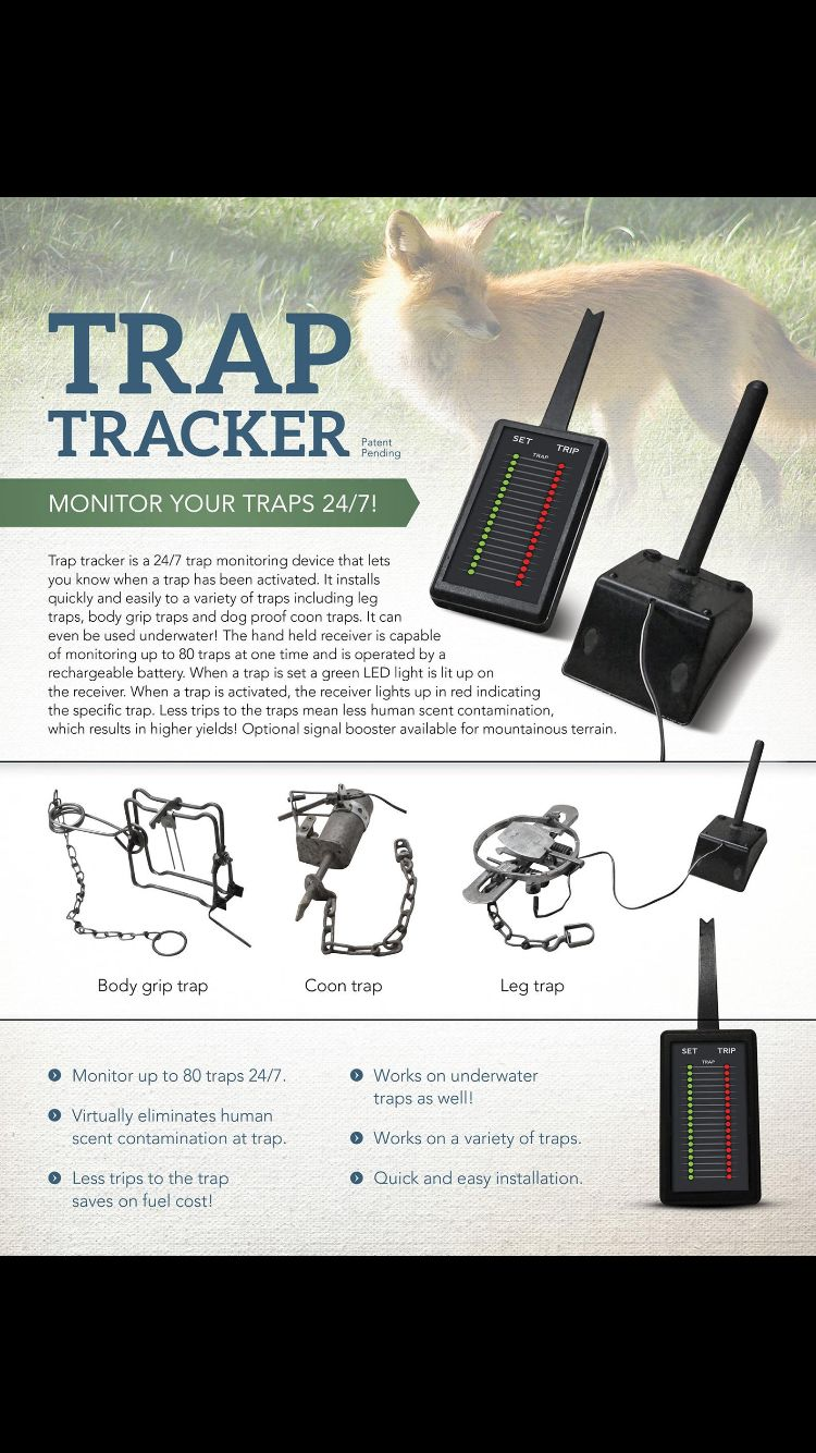 Tracker trap.. New to the market!!