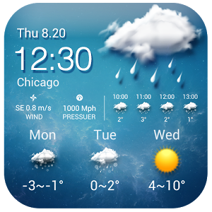 Download Free Weather Widget Android Android App | Best weather
