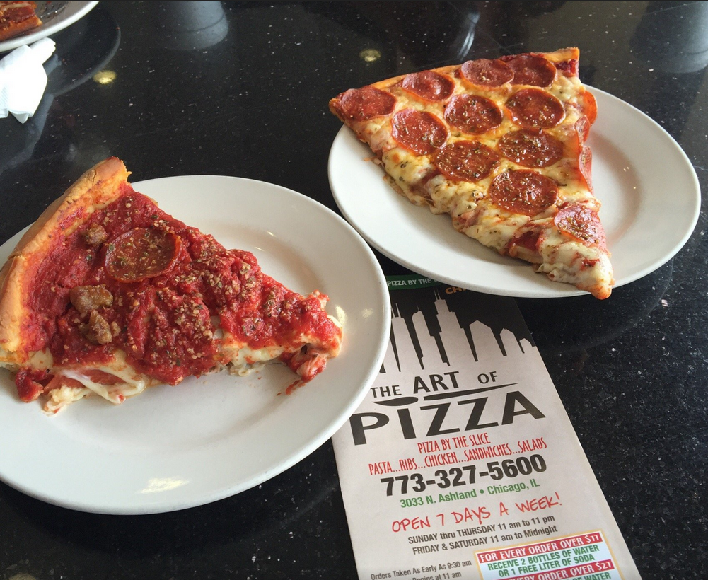 Welcome To The Art Of Pizza Chicago Voted 1 Deep Dish