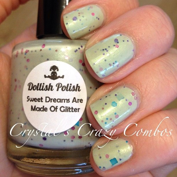 Dollish Polish - Sweet Dreams Are Made of Glitter